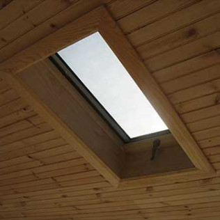 lighting installation of a skylight