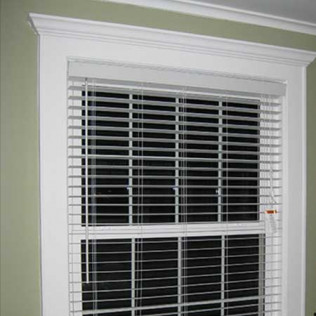 new window installation with blinds